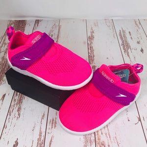 Speedo   Toddler Girls Water Shoes NWT 7/8